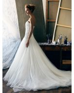 Sweetheart Neckline Princess Ball Gown with Beads