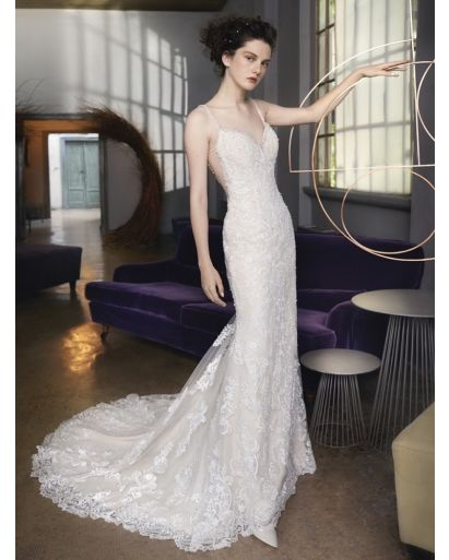 Sexy Sweetheart Neckline Mermaid Wedding Gown in Tulle