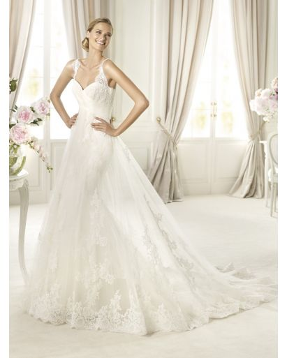 Sweetheart Neckline Mermaid Wedding Dress in Lace