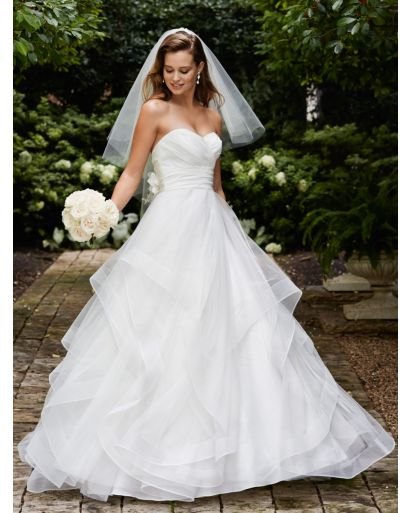 Sweetheart Neckline Princess Ball Gown in Tulle