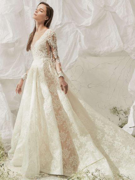 Magnificent Lace Princess Ball Gown