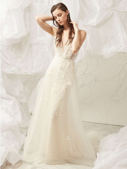 Romantic Two-in-One Wedding Dress