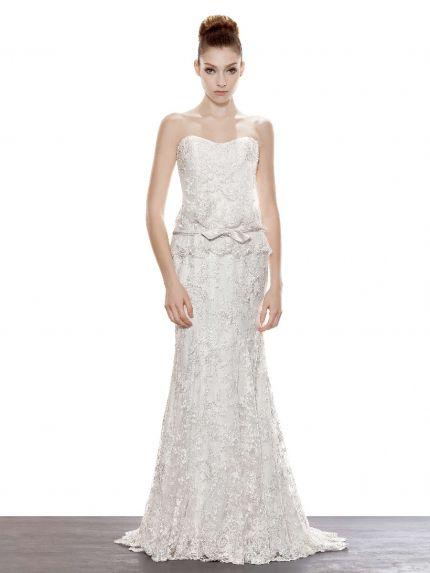 Sweetheart Mermaid Wedding Dress in Lace