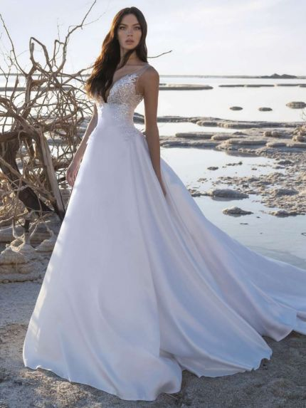 Magnificent A-Line Wedding Dress