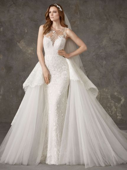 Sweetheart Mermaid Wedding Dress in Lace