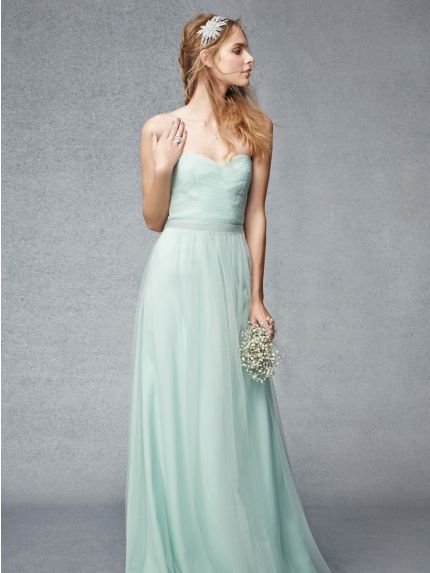 Sweetheart Neckline A-Line Bridesmaid Dress